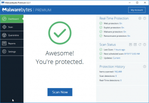 Malwarebytes-Dashboard - VBS Tech Topics