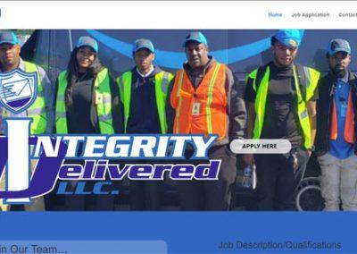 Integrity Delivered Website VBS build
