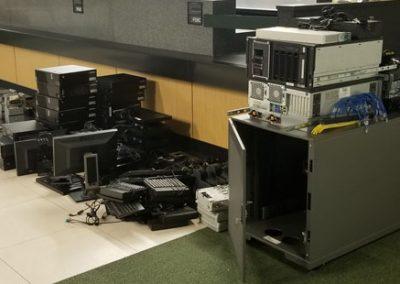 VBS business tech bank tech decommission