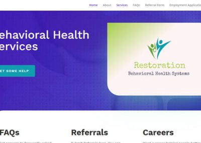 Restoration Website VBS build